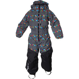 Isbjörn Penguin Snowsuit Kids Peaks Grey